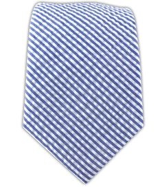 Seersucker - Blue (Cotton) | Ties, Bow Ties, and Pocket Squares | The Tie Bar