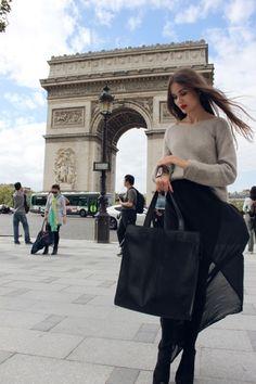 Classic beautiful style in Paris