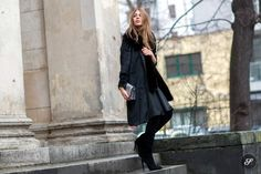 German fashion blogger Maja Weyhe during Mercedes-Benz Fashion Week Berlin Autumn/Winter 2015/16