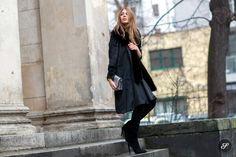 German fashion blogger Maja Weyhe during Mercedes-Benz Fashion Week Berlin Autumn/Winter 2015/16