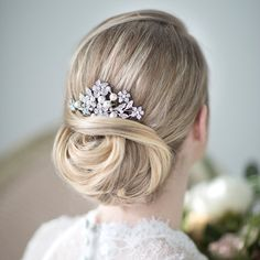 Hey, I found this really awesome Etsy listing at https://www.etsy.com/listing/128603229/bridal-hair-comb-wedding-head-piece