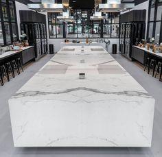 ARTEDOMUS Kitchen in Australia. #GranitiFiandre #FiandreArchitecturalSurfaces