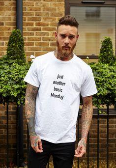 (99+) Monday Slogan T Shirt | SRSLYsocial | ASOS Marketplace