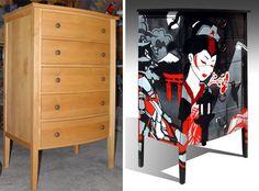 Repurposed dresser.