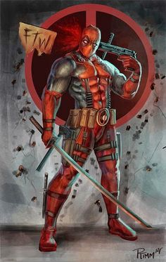 Deadpool is my favourite Marvel character by far, cant wait for the merc with a mouth to get his own movie Comic Book Characters, Comic Book Heroes, Marvel Characters, Comic Character, Comic Books Art, Comic Art, Marvel Comics, Hero Marvel, Anime Comics