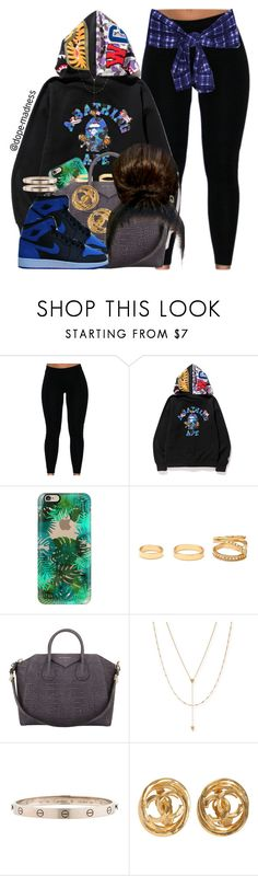 """""""I can tell from your body language"""" by dope-madness ❤ liked on Polyvore featuring A BATHING APE, Casetify, Forever 21, Givenchy, Retrò, Jennifer Zeuner, Cartier and Chanel"""