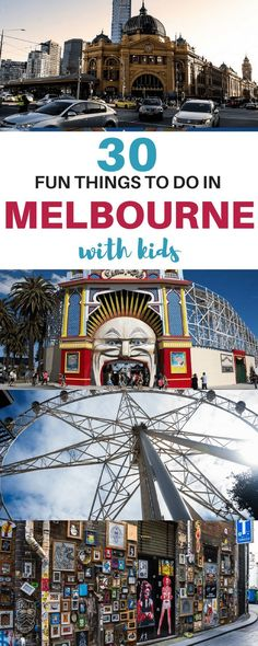 Things to do in Melbourne with kids   Things to do Melbourne kids   Melbourne with kids Australia  