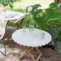 Construire une table en forme de napperon