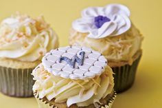 """From """"Wedding Cupcakes 2.0"""" in Westchester/Hudson Valley Weddings' 2015 issue. Photography by Andre Baranowski.  http://www.westchestermagazine.com/Westchester-Magazine/Westchester-Weddings/Annual-2015/Wedding-Cupcakes-Caterers-Westchester/"""