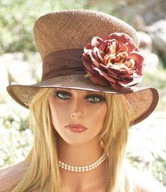 e3524361b7113 New Kentucky Derby Hat Ladies Womens Formal Hat Church Wedding Hat Dress  Hats