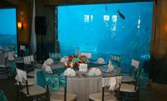 Under the sea Wedding theme