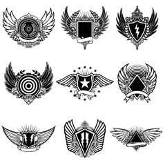 Crest Master Collection from TheVectorLab on Behance