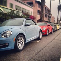 New Baby Blue VW Beetle Convertible!!! WANT THIS AS MY 1st CAR!!! :D