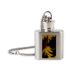 Floating stars Flask Necklace$19.50
