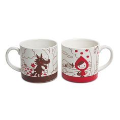 Red Riding Hood Mug Set