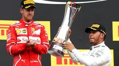Hamilton has cut his deficit to Vettel to just seven points with eight races of the season remaining
