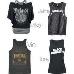 PTV, The Top Of Your Favourite Band They Give You by jordanvarney on Polyvore featuring moda and H&M