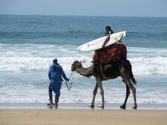 nomad surfers in Morocco