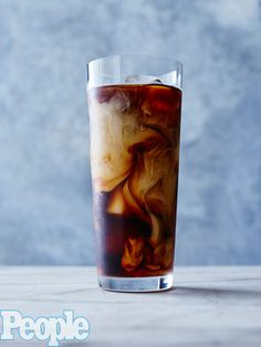 11 Iced Coffees to Kick Your Caffeine Buzz Up a Notch | BANANA BOURBON | This boozy concoction from Griddle Cafe's Jo Kimberly is strong and sweet with just the right amount of edge. Get the recipe below: Whisk together 1 cup strong hot coffee, 1 oz. bourbon, 1 tbsp. caramel sauce and ½ oz. banana liqueur until blended. Fill a tall glass with ice, and pour in coffee mixture. Add ¼ cup milk or cream. Garnish with caramel sauce and whipped cream, if desired.