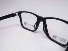 08b7096eda454 Tag Heuer TH 7603 008 Black Track-S Acetate Eyeglasses - Eye Heart Shades -
