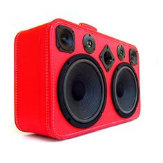 red boombox | BoomCases | The DIY Adventures - upcycling, recycling and DIY from ...