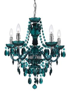 Green by Mini Chic Chandeliers on @HauteLook