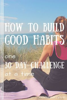 What's the secret to building good habits and making them stick? I'll walk you through it :)