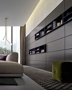 lighting and ceiling - Poliform Wall System