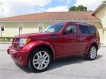 2007 Dodge Nitro R/T. A MUST SEE , LEATHER, NAVIGATION, DVD/TV AND MORE !! ONLY 86K MILES