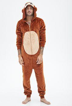 Plush Monkey Jumpsuit | 21 MEN - 2000099682 Size: Adult Small