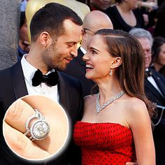 Natalie Portman & husband Benjamin Millepied: Top 23 Enviable Celebrity Engagement Rings - Jeweller Magazine: Jewellery News and Trends