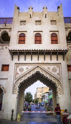 al-ahsa, KSA, islamic architecture Islamic Architecture, Classical Architecture, Art And Architecture, Architecture Portfolio, Futuristic Architecture, Arabian Decor, Arabic Design, Islam Religion, Traditional Exterior