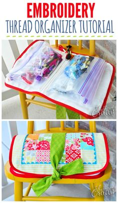 Adorable Embroidery Thread Organizer!! Need on of these!