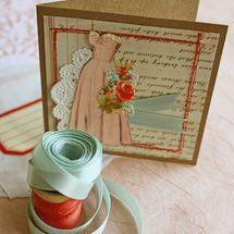 Homemade Bridesmaid Cards