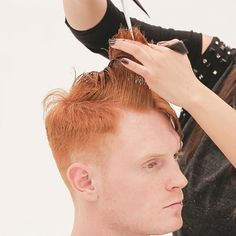 Men's Overdirected Clipper Cut from TONIandGUY - Behindthechair.com Simply Hairstyles, Young Mens Hairstyles, Latino Haircuts, Haircuts For Men, Mens Hair Clippers, Mens Casual Suits, Clipper Cut, Pixie Haircut, Hair Makeup