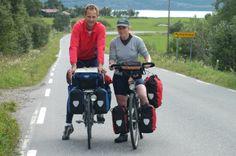 #Cycling along #Kystriksveien. Photo: Olav Breen www.kystriksveien.no #Namdalen #Helgeland #Trøndelag #Northern Norway
