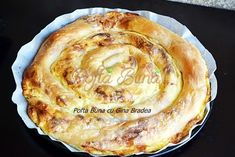 Romanian Desserts, Romanian Food, Pastry And Bakery, Pastry Cake, Brunch Recipes, Cake Recipes, Strudel, Food Cakes, I Foods