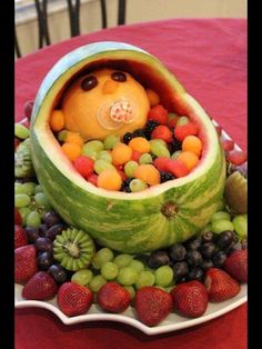 I think this is a cute idea for a baby shower!