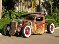 Billy Gibbons' Flat head Rat Rod
