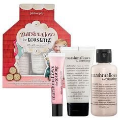 Philosophy Marshmallows for Toasting Trio (Shower Gel, Lotion, and Lip Shine)