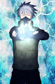 I wouldn't mind being the receiving end of that attack if that is what I would see before I died. Kakashi Hatake, Naruto Shippuden, Boruto, Naruto Art, Naruto And Sasuke, Anime Naruto, Hinata, Wallpapers Naruto, Naruto Wallpaper