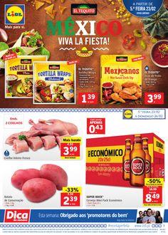 Folheto Lidl Portugal Promoções da Semana em vigor a partir de 23 Fevereiro. México viva la fiesta! #Folheto #Lidl