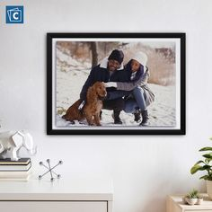 The easiest way to turn your living room into an art gallery is by printing your photos on canvas prints and choosing floater frames. Design yours here! Floating Picture Frames, Floating Frame, Custom Canvas Prints, Print Your Photos, Collage Design, Personalized Photo Gifts, Collage Frames, Photo Canvas, Black Canvas