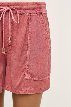 Drawstring Utility Shorts - anthropologie.com