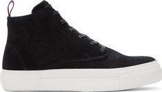Eytys Black Suede Odyssey High-Tops