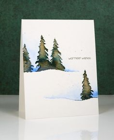 I am hosting the One Layer Simplicity Challenge this month and the theme is 'Christmas in July'. I know some of you make Christmas cards all year but I usually start around now and keep going until De