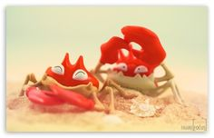 Funny Crabs wallpaper