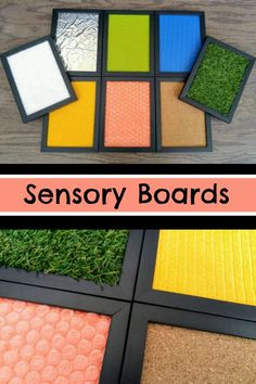 Sensory Boards #sensory #sensoryplay #sensoryactivities #montessori #preschool #preschoolers #prek #daycare #classroom #toddler #affiliate