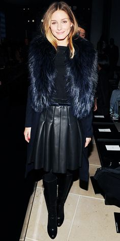 Olivia Palermo's Fashion Week Outfits - Porsche Design Presentation from #InStyle