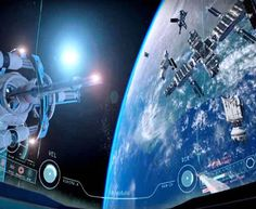 ADR1FT is an immersive VR Gaming Experience that tells the story of an astronaut in peril.The player fights to stay alive & return home to Earth.